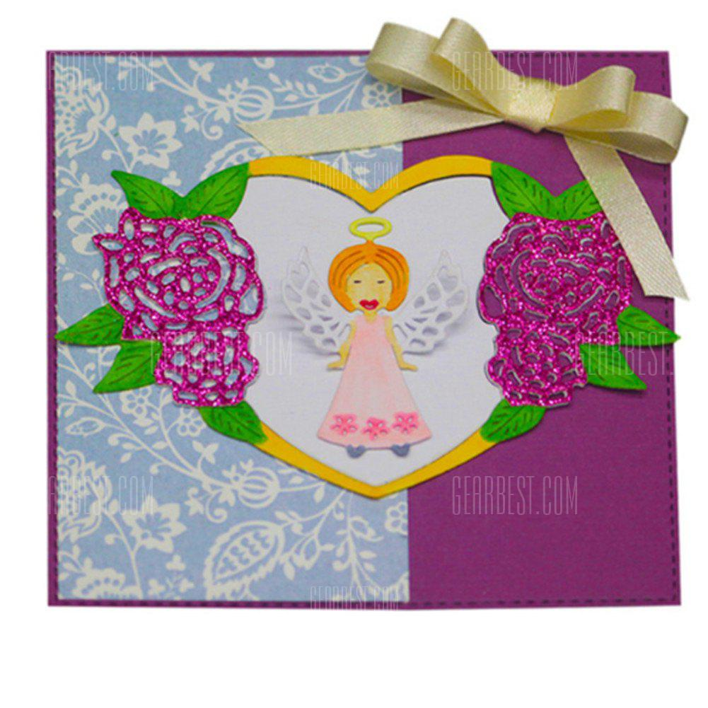Adorable angel design metal cutting dies for greeting card cover adorable angel design metal cutting dies for greeting card cover photo album m4hsunfo