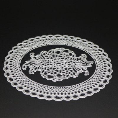 DIY Oval Design Lace Frame Carbon Steeel Stencil Cutting Die 2017 new honey bee silicone stamp cutting dies stencil frame for diy scrapbook album decor