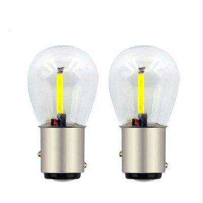 1157 COB Double Contact Car Lamp Bulbs 12 - 24V 2pcs линза arte lamp soffitto a911036