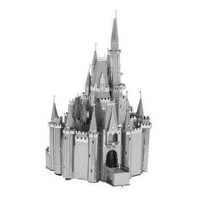 3D Metal Puzzle Castle Model Educational Toy Gift Ornament 3d model king s castle siege diy building bricks blocks figures toys compatible with lepins for children boys game model gift
