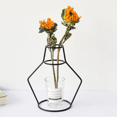 Noord-Europa Wrought Flower Plant rekken Holder Iron Vase