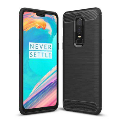 Naxtop TPU Drawing Lines Phone Case for OnePlus 6