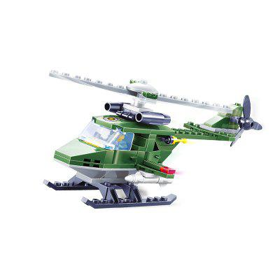 Bouwstenen Rescue Helicopter Model Kids Toy Gift