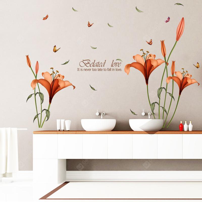 ORANGE, Home & Garden, Home Decors, Wall Art, Wall Stickers