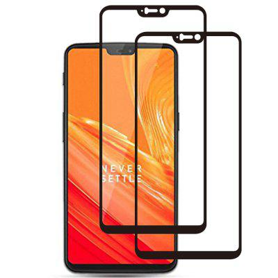 цены ASLING Tempered Glass Screen Film for OnePlus 6 2pcs