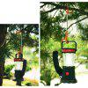 Camping Hiking Lantern Light Lamp Hanger - BLACK