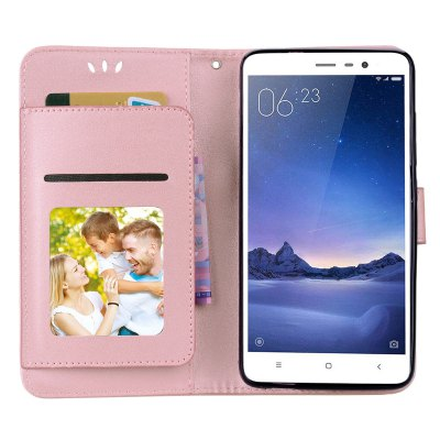Flip Wallet Phone Case with Stand for Xiaomi Redmi Note 3