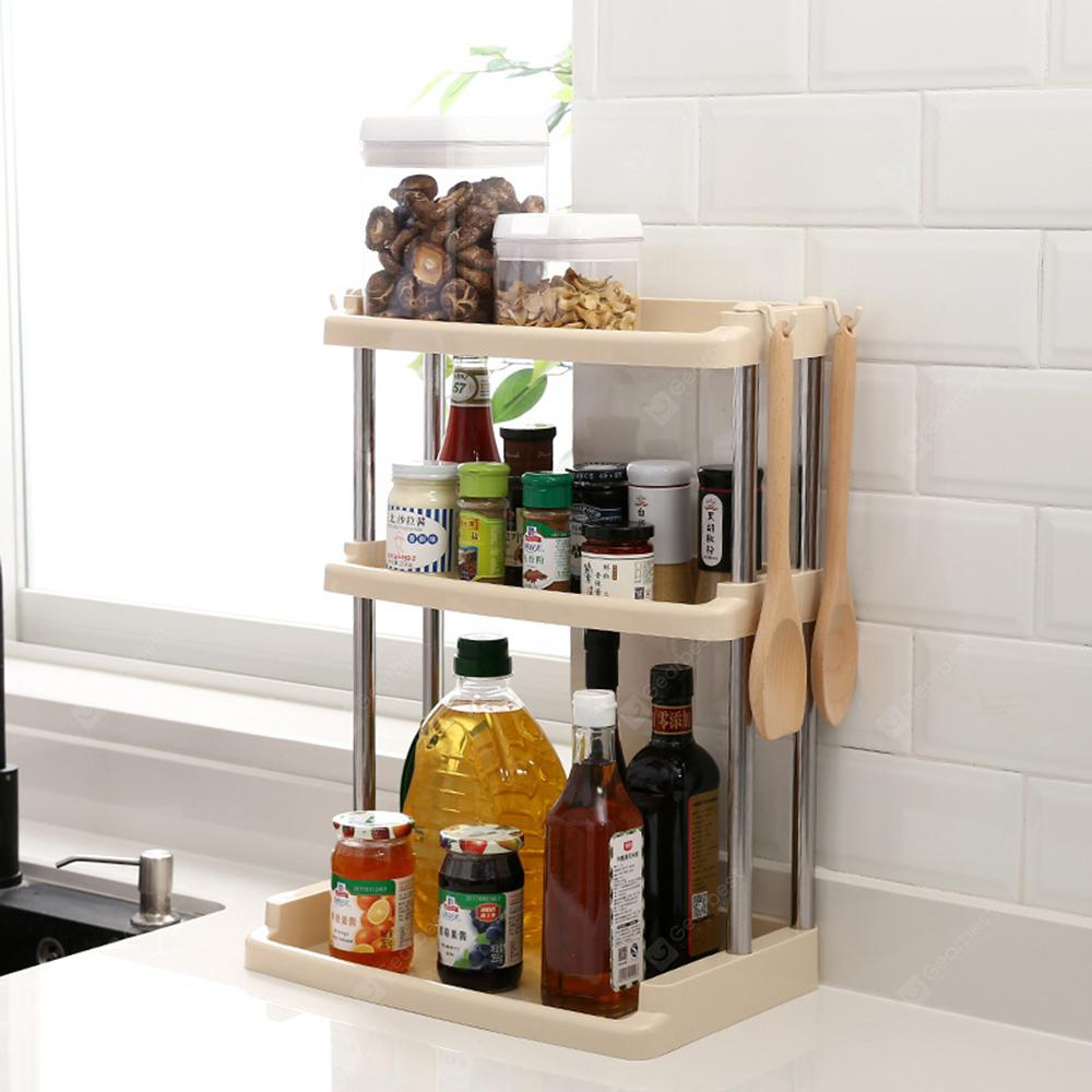 Kitchen Tool Multifunctional 3 Layers Storage Holder