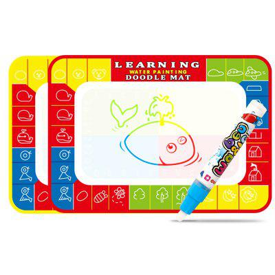 Colorful Children Water Drawing Mat Educational Kids Toy 1pc new wooden montessori educational toy teaching math mathematics number board preschool educational development toy children kids