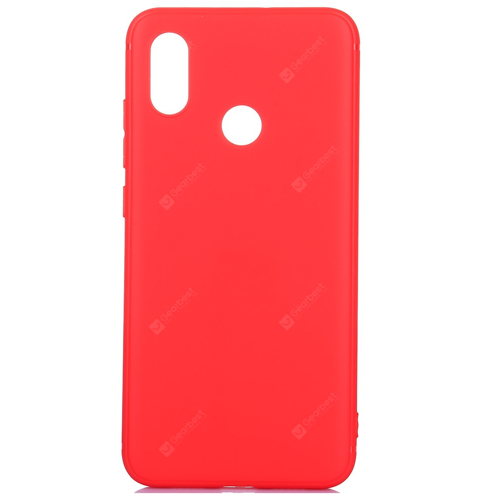 ASLING Frosted TPU Thin Soft Cover for Xiaomi Mi 8
