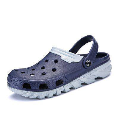 Male Breathable Hollow-out Slippers Sandals