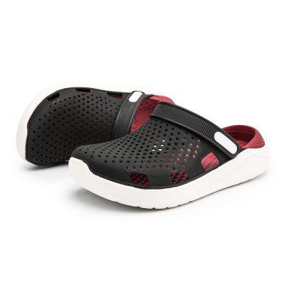 Men Trendy Hollow Breathable Slippers