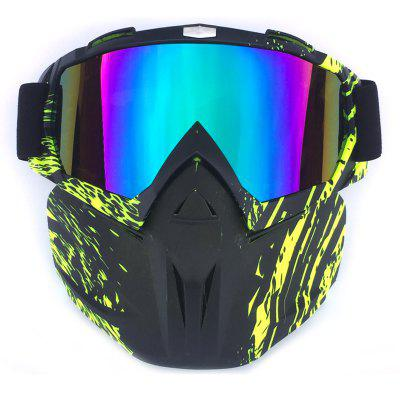 BF658 Motorcycle Goggles with Removable Face Mask out control sexing big view area 4 arc sensor solar auto darkening tig mig mma welding helmet face mask welder mask goggles