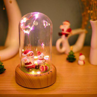Wishing Streamer Bottle LED Micro Landscape Lamp with Bluetooth Speaker