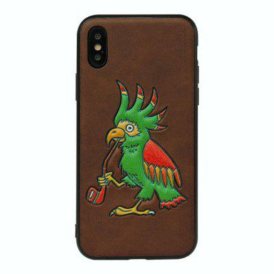 Animal 3D Phone Case with Embroidery for iPhone X