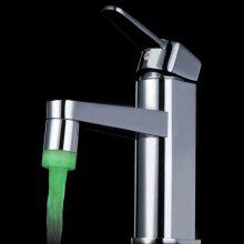 SDF - D6 Single Color Green LED Mirror Water Faucet