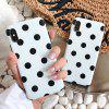Dot Pattern Phone Case for iPhone 7 Plus / 8 Plus - WHITE