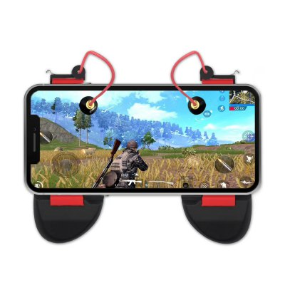 2 in 1 Smart Fire Buttons with Gamepad Handle Grip
