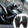 Summer Breathable Motorcycle Outdoor Ridding Gloves 1 Pair - BLACK