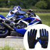 Summer Breathable Motorcycle Outdoor Ridding Gloves 1 Pair - BLUE