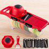 Vegetable Fruit Cutter Multifunctional Slicer - ROJO