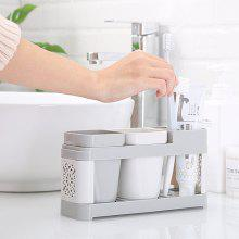 449017 Creative Family Toothbrush Holder Set with 2 Washing Cup
