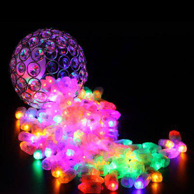 Small Light LED Bullet Balloon Decorative Lamp 10pcs