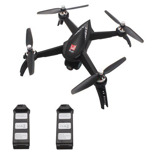 MJX Bugs 5W B5W WiFi FPV RC Drone BLACK 2 BATTERIES