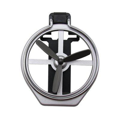 SD - 1005 Car Foldable Horizontal Vent Mount Fan Cup Holder Bottle Stand