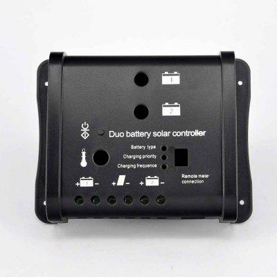 SDC10 Dual Battery PWM Solar Controller without Display