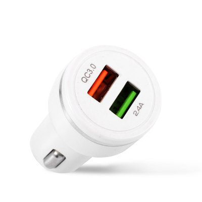 Double USB Ports Car Quick Charger