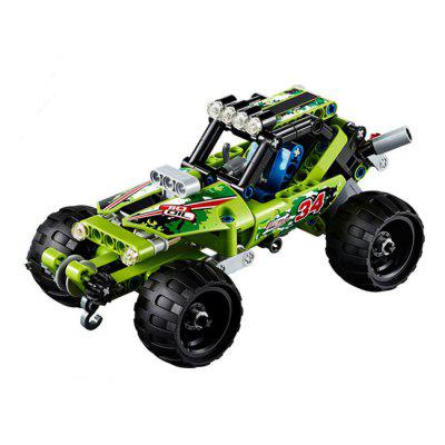 Pull back Car Block Off-road Vehicle Children Toy