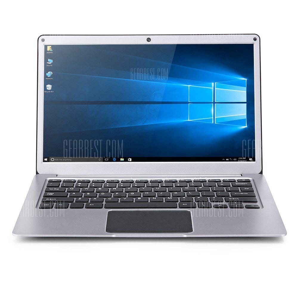 AIWO 737A1 Ordinateur portable 13.3 pouces Windows 10 Version anglaise Intel Gemini Lake N3450 Quad Core Quad Core 1.1GHz RAM 6GB 64GB eMMC Caméra HDMI Dual WiFi
