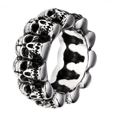 Fashion Zinc Alloy Creative Punk Ring  for Man