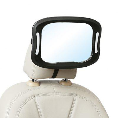 Safety Car Seat Baby View Mirror With Remote Control Light