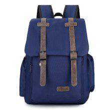 Retro Style Cotton Linen Fashion Backpack