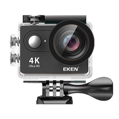 Original EKEN H9R 2 inch 4K WiFi Action Camera - BLACK EU PLUG