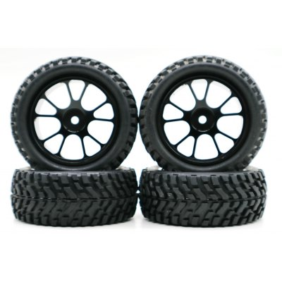 Wheel with Alloy Rim for WLtoys A959 A969 A979 K929 A959 - b A969 - b A979 - b K929 - b 1/18 RC Car 4pcs