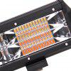 DY - 093 - WA - 144W - F 10 inch LED Spot Work Light Bar - BLACK