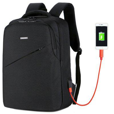 Men's Backpack Smart USB Recharge Leisure