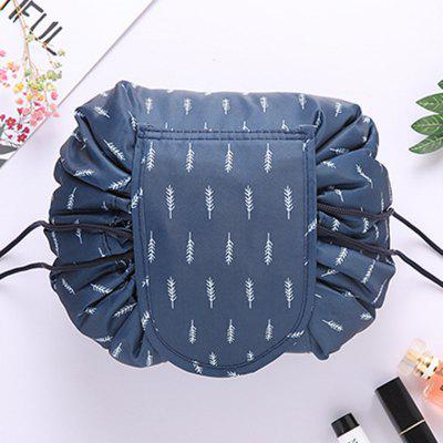 Creative Lazy Drawstring Round Cosmetic Storage Bag