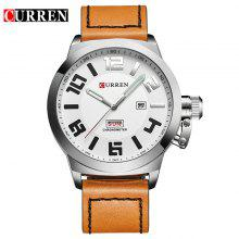 Gearbest price history to Men's Fashionable Quartz Watch with Leather Band