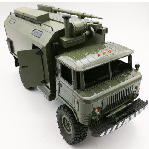 WPL B24ZH 4WD 1:16 Soviet Muse 66 Command Model Full-scale Climbing RC Car