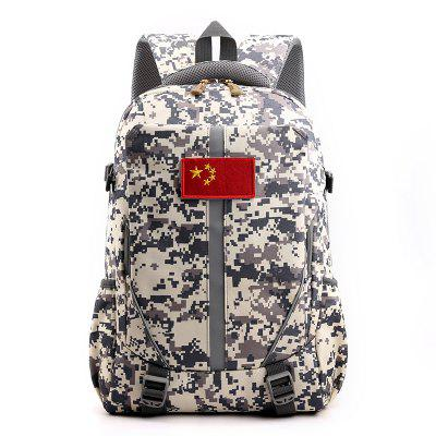 Fall Winter Leisure Backpack Versatile School Bag for Men Women