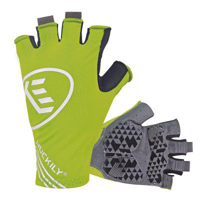 NUCKILY PC04 Bicycle Half Finger Gloves Summer Road Mountain Bike Men Riding Spinning Damping Equipment