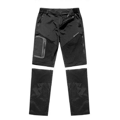 NUCKILY XJW211 Minimalist Cycling Pants Male Loose Shorts Spring Summer Casual Mountain Bike Clothing Detachable Length