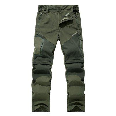 NUCKILY XJW211 Pantaloncini da Ciclismo Estive Pantaloncini Primavera Estate Casual Mountain Bike Lunghezza Staccabile