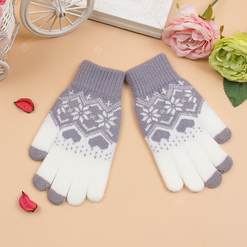 Knit Touch Screen Sensitive Gloves
