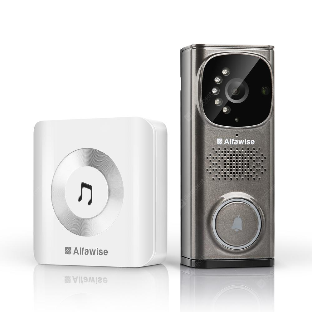 Alfawise WD613 Smart Video Doorbell - GRAY EU PLUG