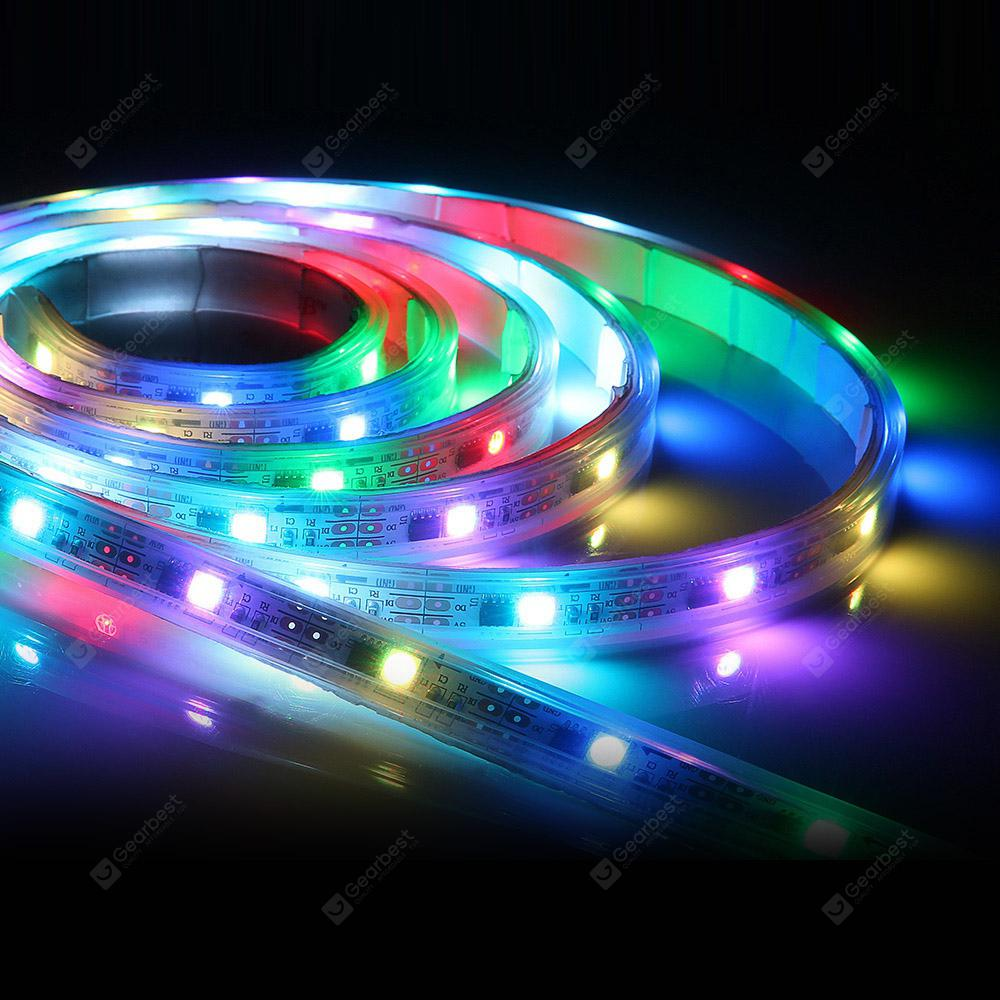 zanflare s2 2m usb multicolor indoor led strip light free shipping. Black Bedroom Furniture Sets. Home Design Ideas
